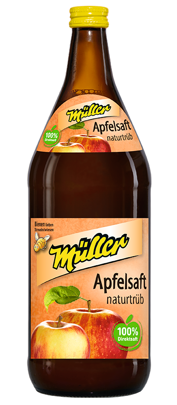 Kelterei Müller Apfelsaft naturtrüb