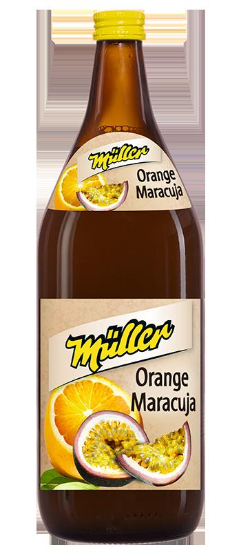 Orangen-Maracuja-Nektar
